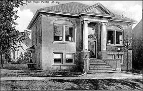 Port Hope Public Library's Carnegie Building, circa 1912