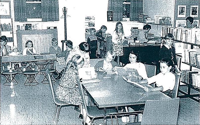 Children's Library, circa 1963
