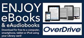 Enjoy eBooks & Audiobooks: Download for free to a computer, smartphone, tablet or iPod using your library card!