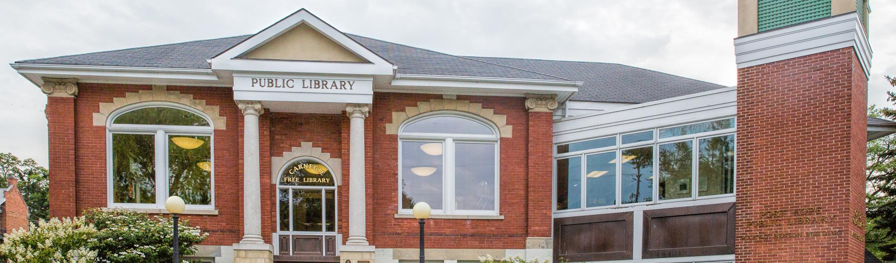 Port Hope Public Library circa 2017